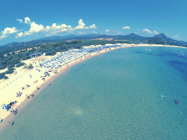 Le spiagge di costa rei - Spiaggia piscina rei ...