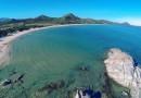 La Spiaggia di Santa Giusta Costa Rei e lo scoglio di Peppino