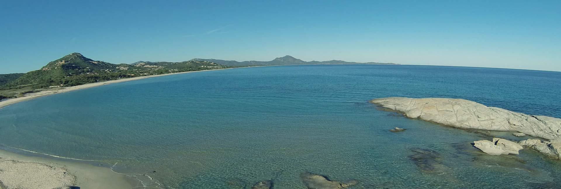 Costa Rei Panorama